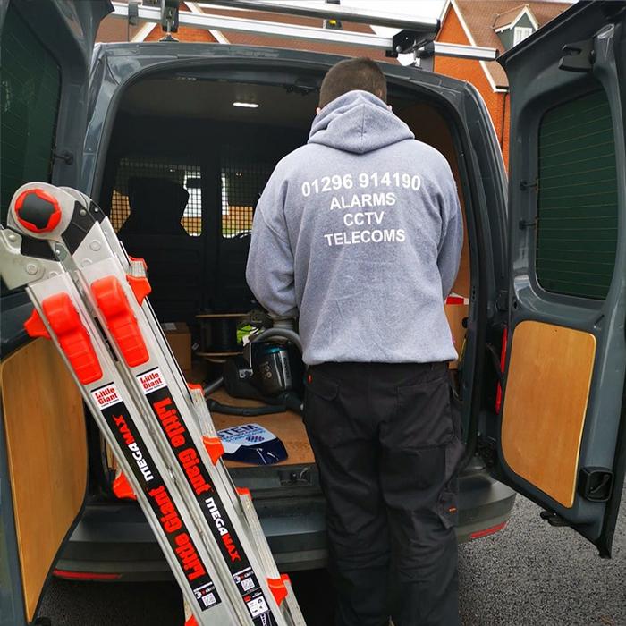 commercial security consultants - cctv & burglar alarm installation service thame
